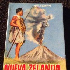 Libros antiguos: MINILIBRO ENCICLOPEDIA PULGA. N- 221. NUEVA ZELANDA. ABEL ESQUIROZ. Lote 195057258