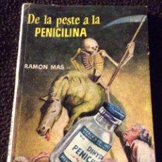 Libros antiguos: MINILIBRO ENCICLOPEDIA PULGA. N- 309. DE LA PESTE A LA PENICILINA. RAMON MAS. Lote 195057440