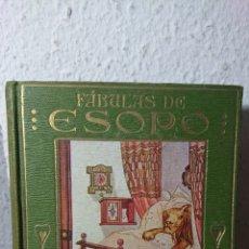 Libros antiguos: 1914 - FÁBULAS DE ESOPO, ARALUCE, ILUSTRACIONES DE A. SALÓ. Lote 195059880