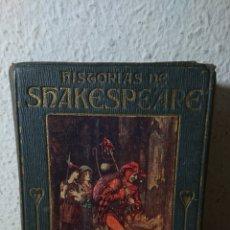 Libros antiguos: 1914 - HISTORIAS DE SHAKESPEARE, JEANIE LANG, COLECCIÓN ARALUCE. Lote 195059935