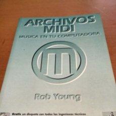 Libros antiguos: ARCHIVOS MIDI. Lote 195079633