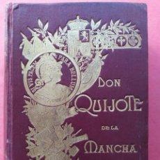 Libros antiguos: DON QUIJOTE DE LA MANCHA. EDICIÓN ESPECIAL DEL CENTRO DEL EJÉRCITO Y ARMADA 1905.. Lote 195081540