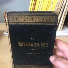 Libros antiguos: LIBRO LA ESTRELLA DEL MAR MADAMA M DE BR ED. ESTABLECIMIENTOS BENZIGER. Lote 195101922