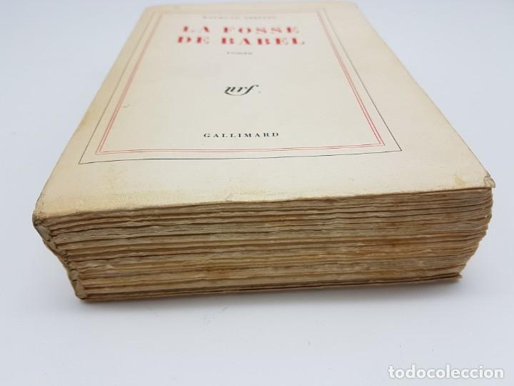 Libros antiguos: LA FOSSE DE BABEL, ROMAN ( EN FRANCES ) 1962 ( BABILONIA ) - Foto 2 - 195102165