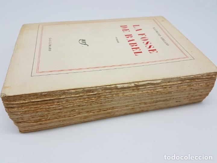 Libros antiguos: LA FOSSE DE BABEL, ROMAN ( EN FRANCES ) 1962 ( BABILONIA ) - Foto 3 - 195102165
