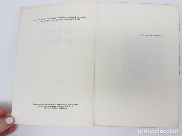 Libros antiguos: LA FOSSE DE BABEL, ROMAN ( EN FRANCES ) 1962 ( BABILONIA ) - Foto 4 - 195102165