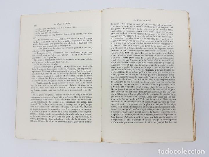 Libros antiguos: LA FOSSE DE BABEL, ROMAN ( EN FRANCES ) 1962 ( BABILONIA ) - Foto 6 - 195102165