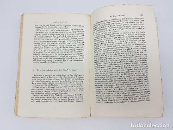 Libros antiguos: LA FOSSE DE BABEL, ROMAN ( EN FRANCES ) 1962 ( BABILONIA ) - Foto 8 - 195102165