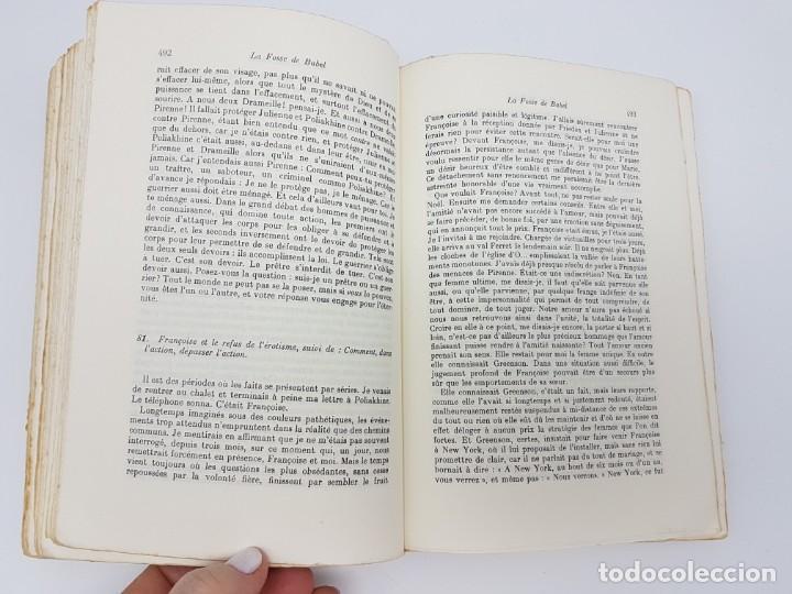 Libros antiguos: LA FOSSE DE BABEL, ROMAN ( EN FRANCES ) 1962 ( BABILONIA ) - Foto 10 - 195102165