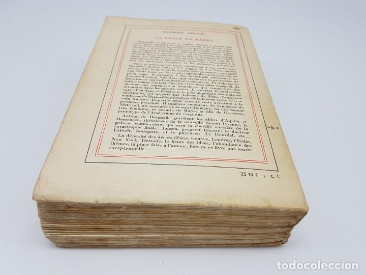 Libros antiguos: LA FOSSE DE BABEL, ROMAN ( EN FRANCES ) 1962 ( BABILONIA ) - Foto 12 - 195102165