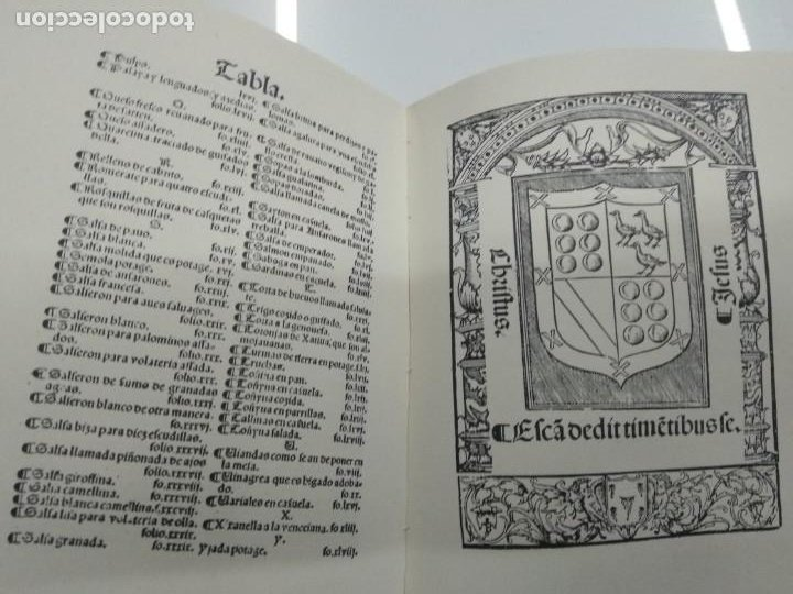 Libros antiguos: LIBRO DE COCINA RUPERTO DE NOLA FACSIMIL ED. HISTORICO ARTISTICAS TIRADA 500 ejemplares - Foto 8 - 195113232