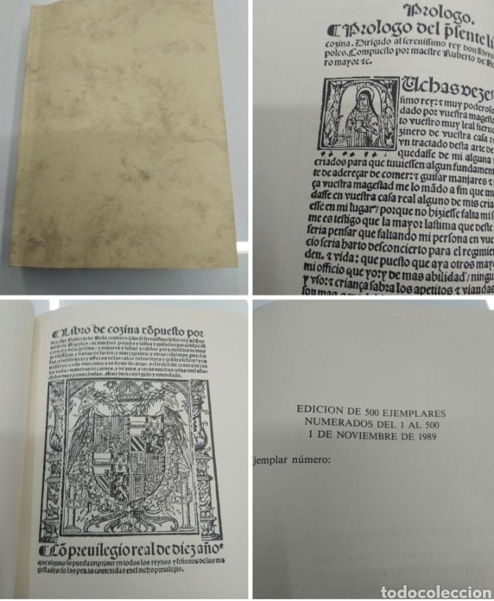 LIBRO DE COCINA RUPERTO DE NOLA FACSIMIL ED. HISTORICO ARTISTICAS TIRADA 500 EJEMPLARES (Libros Antiguos, Raros y Curiosos - Cocina y Gastronomía)