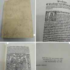Libros antiguos: LIBRO DE COCINA RUPERTO DE NOLA FACSIMIL ED. HISTORICO ARTISTICAS TIRADA 500 EJEMPLARES. Lote 195113232