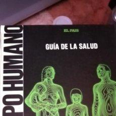 Libros antiguos: EL CUERPO HUMANO GUIA DE LA SALUD DIARIO EL PAIS ENCUADERNADO COMPLETO. Lote 195133280