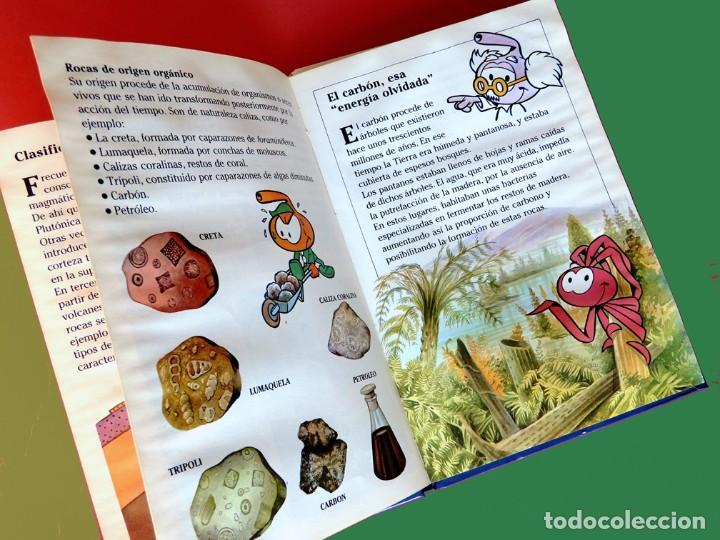 Libros antiguos: ENCICLOPEDIA JUVENIL DE LAS CIENCIAS NATURALES - LA TIERRA, PLANETA AZUL - III / TOMO 14 - 1987 - Foto 4 - 195148685