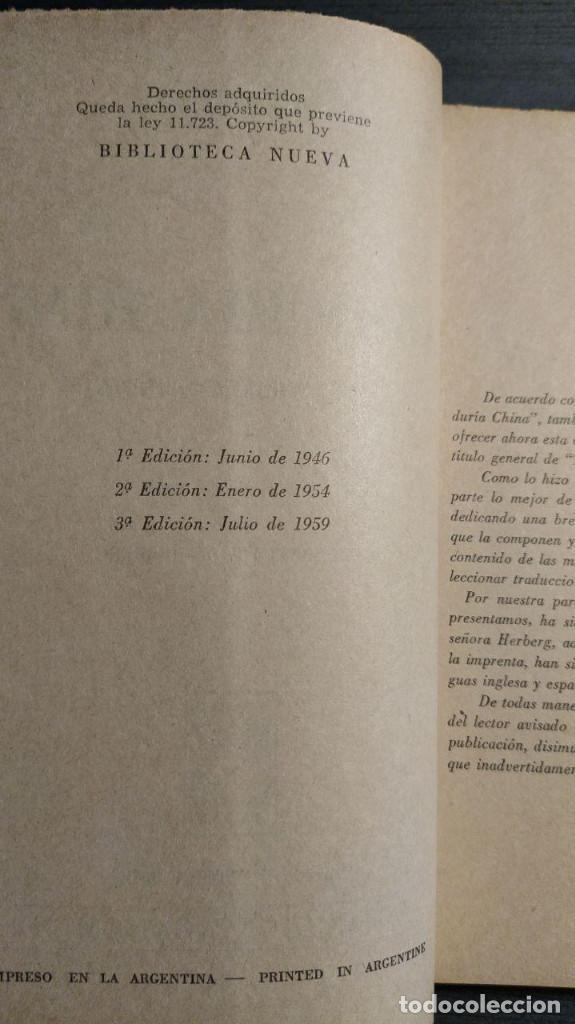 Libros antiguos: SABIDURIA HINDU LIN YUTANG. LIBRERÍA NUEVA, 1959 . - Foto 4 - 195152887