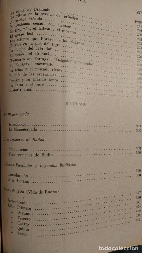 Libros antiguos: SABIDURIA HINDU LIN YUTANG. LIBRERÍA NUEVA, 1959 . - Foto 9 - 195152887