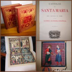 Libros antiguos: 1889 - ALFONSO X EL SABIO, CANTIGAS DE SANTA MARÍA, PRIMERA EDICIÓN. Lote 195154863