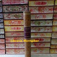 Libros antiguos: EL INGENIOSO HIDALGO DON QUIJOTE DE LA MANCHA + EL BUSCAPIE . AUTOR : CERVANTES SAAVEDRA, DON MIGUEL. Lote 195158250