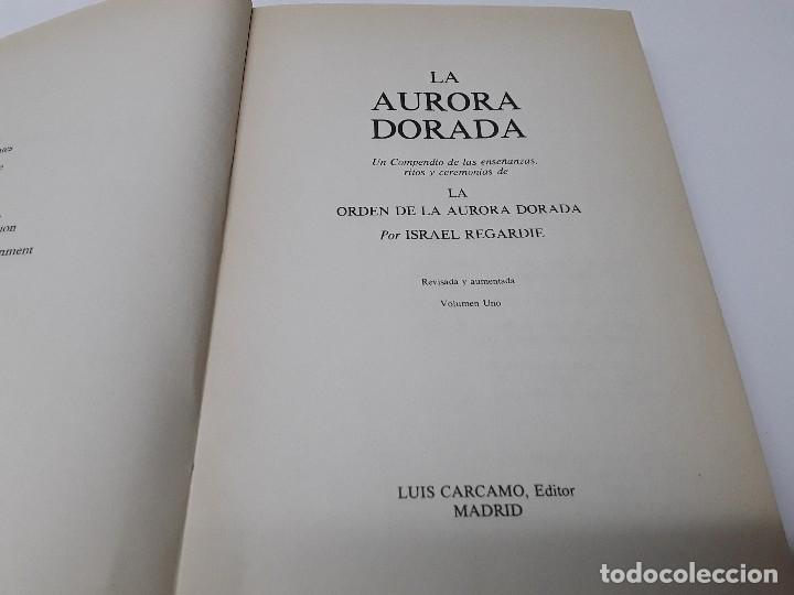 Libros antiguos: LA AURORA DORADA - Foto 2 - 195183813