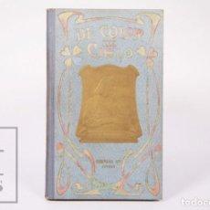 Libros antiguos: LIBRO DE COLOR DE CIELO. P. ESTEBAN MORÉU / ILUS. JOSEP MARÍA VALLS - EX LIBRIS - SUBIRANA, 1905. Lote 195187313