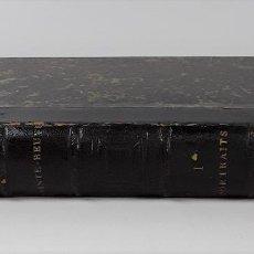 Libros antiguos: PORTRAITS CONTEMPORAINS. TOMO I. C. A. SAINTE-BEUVE. LIBR. M. LÉVY FRÈRES.. Lote 195199722
