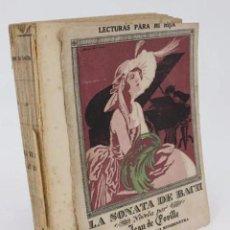 Libros antiguos: LECTURAS PARA MI HIJA. LA SONATA DE BACH (JEAN DE FOVILLE) RIVADENEYRA, 1923. Lote 195215647
