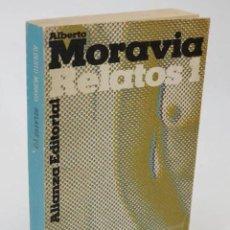 Libros antiguos: RELATOS I (ALBERTO MORAVIA) ALIANZA, 1971. Lote 195215655
