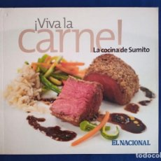 Libros antiguos: ¡ VIVA LA CARNE ! (ESPAÑOL) PASTA BLANDA – 2008. Lote 195225695
