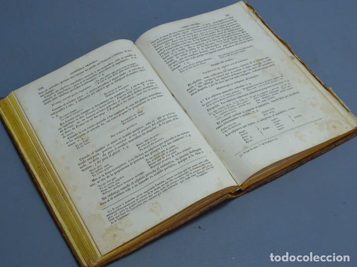 Libros antiguos: ARTE DE HABLAR BIEN FRANCÉS O GRAMÁTICA COMPLETA-PEDRO NICOLÁS CHANTREAU-BARCELONA 1845 - Foto 4 - 195227011