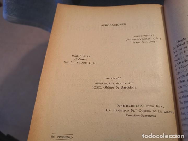 Libros antiguos: HISTORIA UNIVERSAL LOS BÁRBAROS Y EL IMPERIO DR. J. BTA. WEISS 1927 - Foto 3 - 195240666