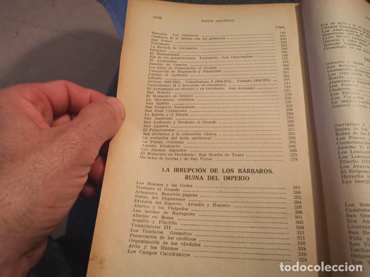 Libros antiguos: HISTORIA UNIVERSAL LOS BÁRBAROS Y EL IMPERIO DR. J. BTA. WEISS 1927 - Foto 5 - 195240666