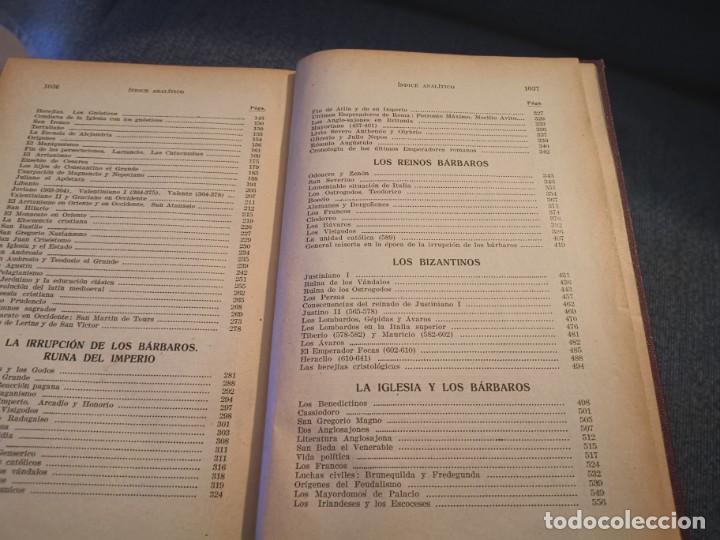 Libros antiguos: HISTORIA UNIVERSAL LOS BÁRBAROS Y EL IMPERIO DR. J. BTA. WEISS 1927 - Foto 6 - 195240666