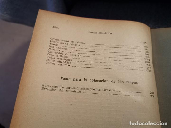 Libros antiguos: HISTORIA UNIVERSAL LOS BÁRBAROS Y EL IMPERIO DR. J. BTA. WEISS 1927 - Foto 9 - 195240666