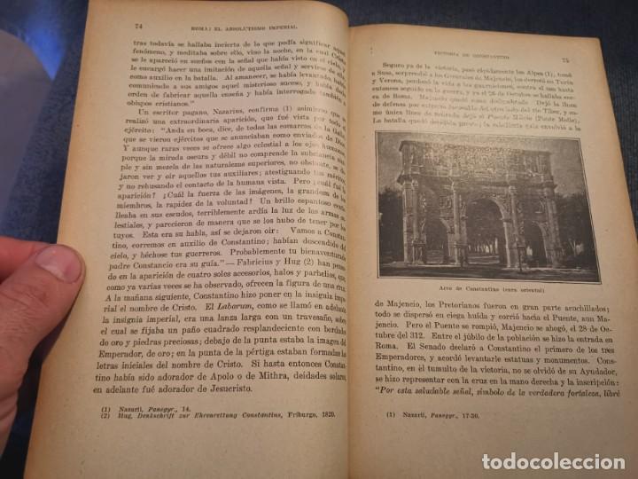 Libros antiguos: HISTORIA UNIVERSAL LOS BÁRBAROS Y EL IMPERIO DR. J. BTA. WEISS 1927 - Foto 10 - 195240666