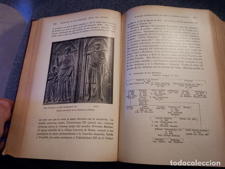 Libros antiguos: HISTORIA UNIVERSAL LOS BÁRBAROS Y EL IMPERIO DR. J. BTA. WEISS 1927 - Foto 13 - 195240666