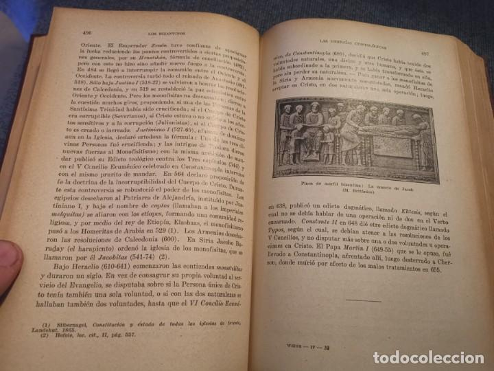 Libros antiguos: HISTORIA UNIVERSAL LOS BÁRBAROS Y EL IMPERIO DR. J. BTA. WEISS 1927 - Foto 15 - 195240666
