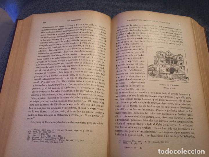 Libros antiguos: HISTORIA UNIVERSAL LOS BÁRBAROS Y EL IMPERIO DR. J. BTA. WEISS 1927 - Foto 16 - 195240666