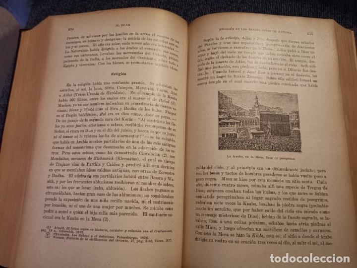 Libros antiguos: HISTORIA UNIVERSAL LOS BÁRBAROS Y EL IMPERIO DR. J. BTA. WEISS 1927 - Foto 19 - 195240666