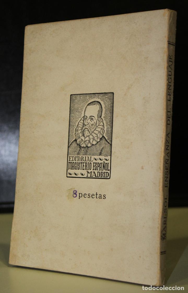Libros antiguos: Mari-Sol. Método completo para la enseñanza del Lenguaje. - Foto 2 - 195266576