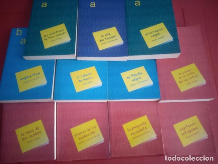 Libros antiguos: LOTE 11 Novelas de Aventuras - Foto 2 - 195269350