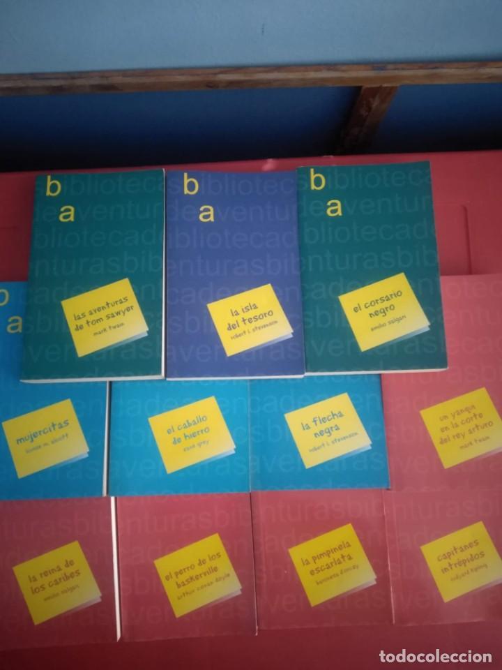 Libros antiguos: LOTE 11 Novelas de Aventuras - Foto 3 - 195269350