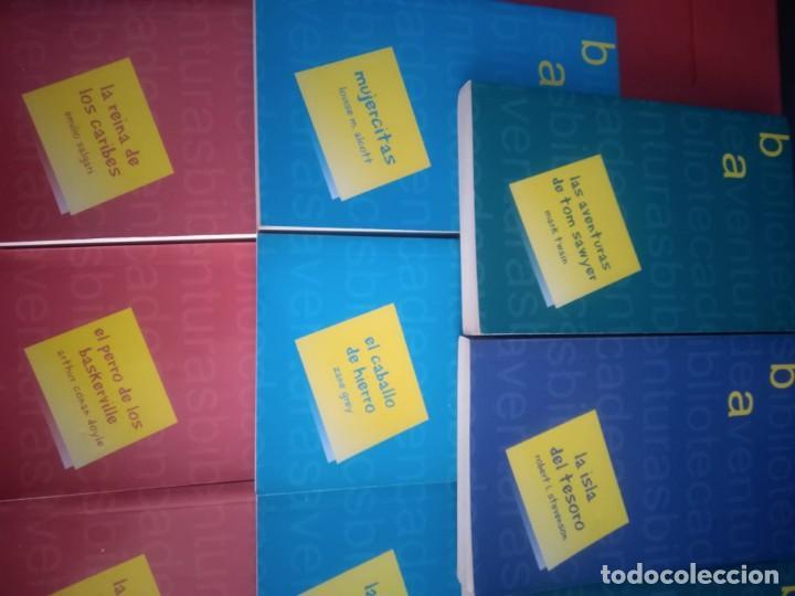 Libros antiguos: LOTE 11 Novelas de Aventuras - Foto 4 - 195269350