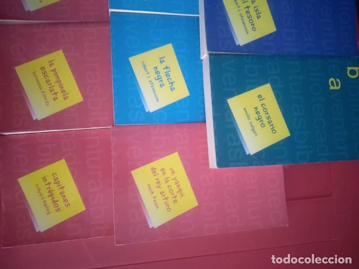 Libros antiguos: LOTE 11 Novelas de Aventuras - Foto 5 - 195269350