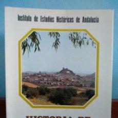 Libros antiguos: HISTORIA DE LA VILLA DE LUQUE / ANTONIO ARJONA CASTRO Y VICENTE ESTRADA CARRILLO. Lote 195285330