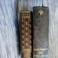 Libros antiguos: RAMON PEREZ DE AYALA MAS OCHO VIDAS DE CONQUISTA.. Lote 195287735