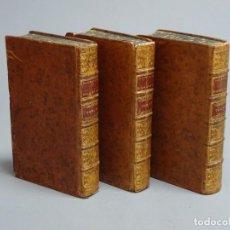 Libros antiguos: DICTIONNAIRE DOMESTIQUE PORTATIF - 3 VOLÚMENES - OBRA COMPLETA - PARIS 1765. Lote 195312140