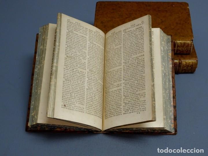 Libros antiguos: DICTIONNAIRE DOMESTIQUE PORTATIF - 3 VOLÚMENES - OBRA COMPLETA - PARIS 1765 - Foto 3 - 195312140