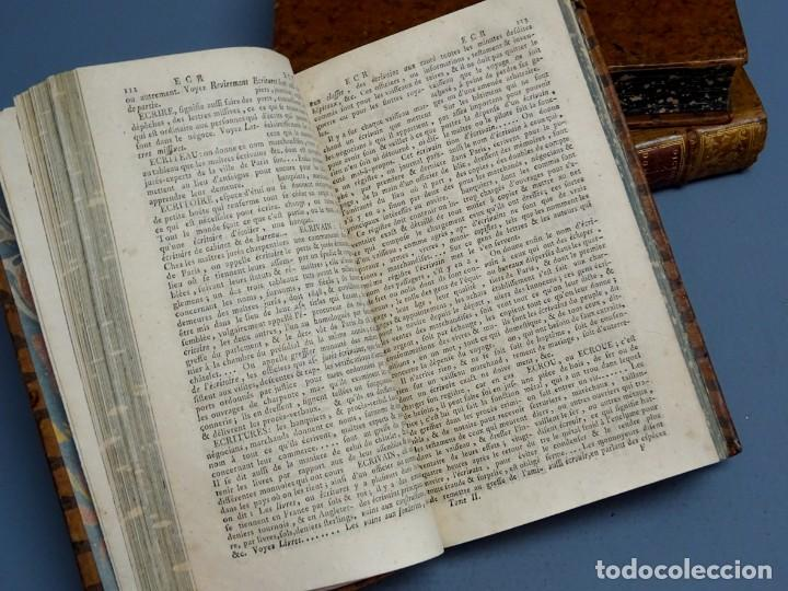 Libros antiguos: DICTIONNAIRE DOMESTIQUE PORTATIF - 3 VOLÚMENES - OBRA COMPLETA - PARIS 1765 - Foto 5 - 195312140