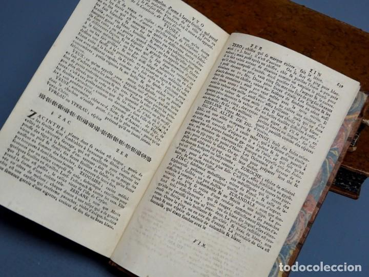 Libros antiguos: DICTIONNAIRE DOMESTIQUE PORTATIF - 3 VOLÚMENES - OBRA COMPLETA - PARIS 1765 - Foto 7 - 195312140